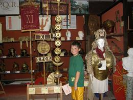 We went directly to the store and bought him a training sword and he slashed his way through Rome. He spent the rest of the time in Italy trying to talk me into buying him a Gladiator helmet. Rome ... , Chase W - August 2009