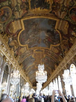 Versailles-Hall of Mirrors , Denise D - November 2013