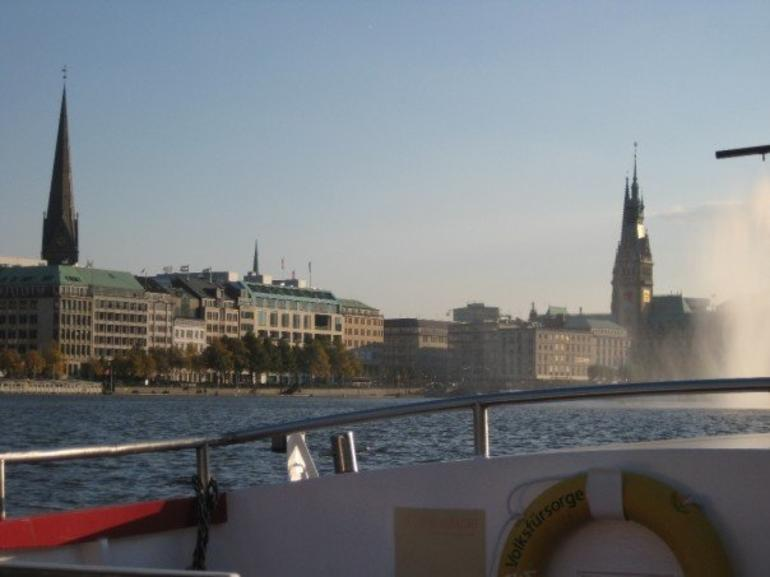 View from a boat tour - Hamburg