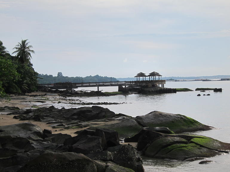 Arriving in Ubin - Singapore