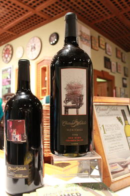 Photo of Seattle Snoqualmie Falls and Seattle Winery Tour Beautiful bottle of red wine