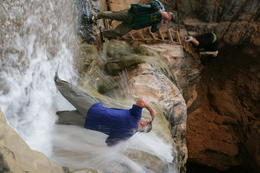 Photo of Las Vegas Grand Canyon White Water Rafting Trip from Las Vegas Getting wet!