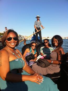 On our gondola ride headed to the Grand Canal , Nikki H - October 2011
