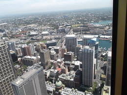 Photo of   Looking down on Sydney