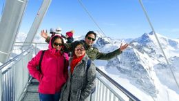 Mt Titlis , Vijay - April 2016