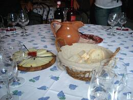 Photo of Florence Chianti Region Wine Tasting Half-Day Trip from Florence Our table spread