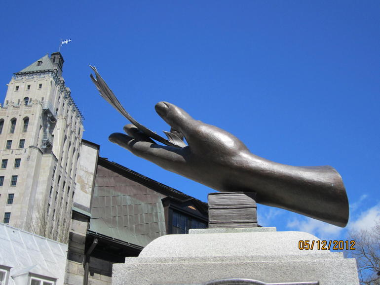Sculpture - Quebec City