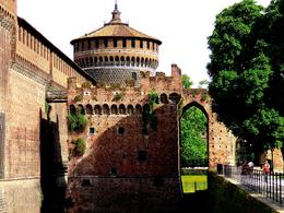 Sforza Castle , Maureen O - June 2014