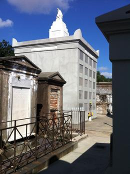 Graves at St. Louis Cemetery No. 1 , Howard B - September 2014