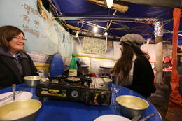 Photo of Seoul Small-Group Korean Night Food Tour Tent restaurant