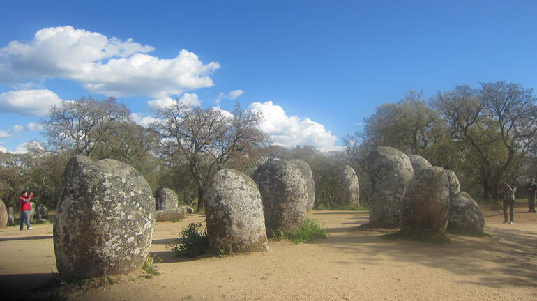 the Chromelech stones - Lisbon