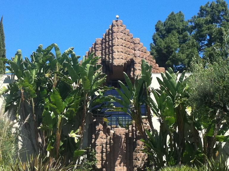 The Lloyd Wright designed house - Sowden House - Los Angeles