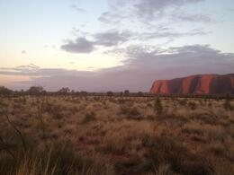 Sunrise Over Uluru (Ayers Rock) and Base Walk with Indigenous Guide - May 2013
