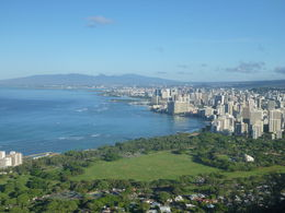 Waikiki from Diamond Head Lookout , Leana J - September 2015