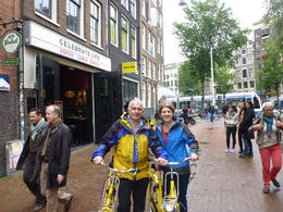 Photo of Amsterdam Small-Group Amsterdam Bike Tour Yellow bike tour