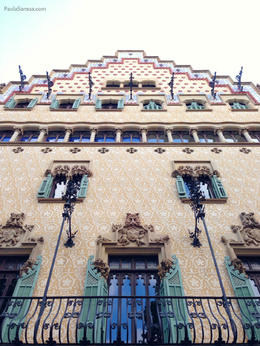 Photo of Barcelona Barcelona Modernism and Gaudi Walking Tour Casa Amatller.