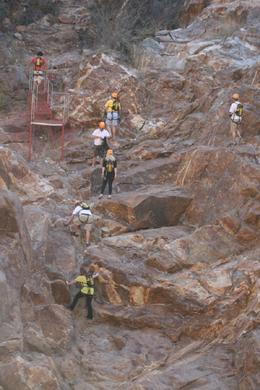Photo of Los Cabos Los Cabos Canopy Tour Climbing up
