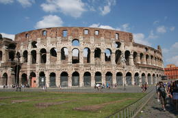 Rich in history, the Coliseum is now being extensively and quot;reconstructed and quot; and preserved. The narrative on the bus is interesting but short so recommend you do some reading in advance. , Debra M - August 2014