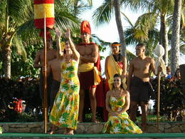 Photo of Oahu Paradise Cove Luau Dancing before dinner