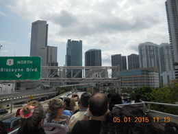 Sightseeing tour in downtown Miami w/ the group. , Leonila C - May 2015