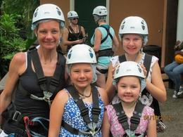 Photo of St Lucia St Lucia Aerial Tram and Zipline Canopy Tour Family Shot