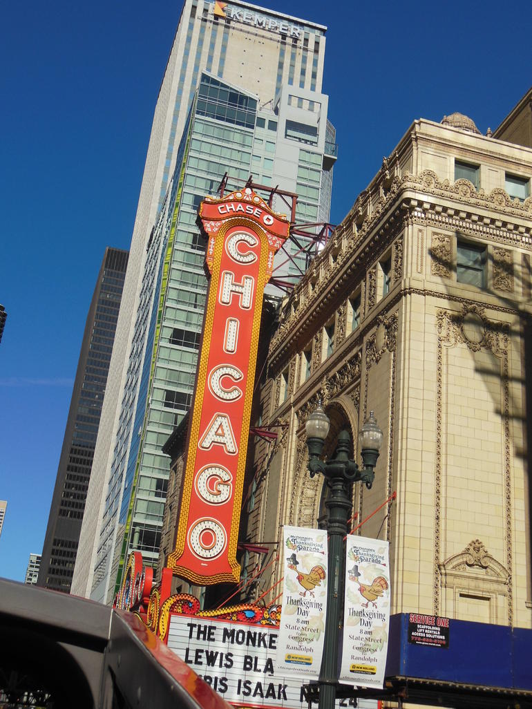 Famous Chicago Theatre - Chicago