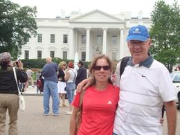 Visiting White House in Washington DC, FRANCISCO A - June 2010