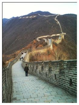 View of the Great Wall at Matianyu , Kimberly G - March 2011