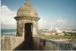 Photo of San Juan Rum Distillery and Old San Juan Half-Day Tour Guarding Puerto Rico