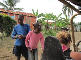 The local children enjoyed the candy we brought with us to hand out! , Brenda H - December 2010