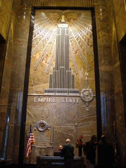 Photo of New York City Empire State Building Tickets - Observatory and Optional Skip the Line Tickets inside the empire state building entrance