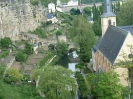 Luxembourg is a city of old buildings and deep chasms. , Anne K - May 2011