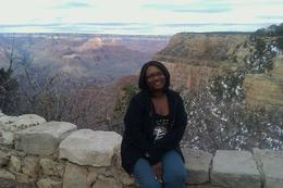 Photo of Las Vegas Grand Canyon South Rim Bus Tour with Optional Upgrades Me at the Grand Canyon