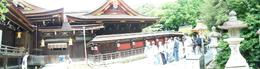 2nd stop of our Kyoto tour. - August 2008