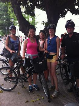 Photo of Buenos Aires Buenos Aires Bike Tour: Recoleta and Palermo Districts our group on Sunday