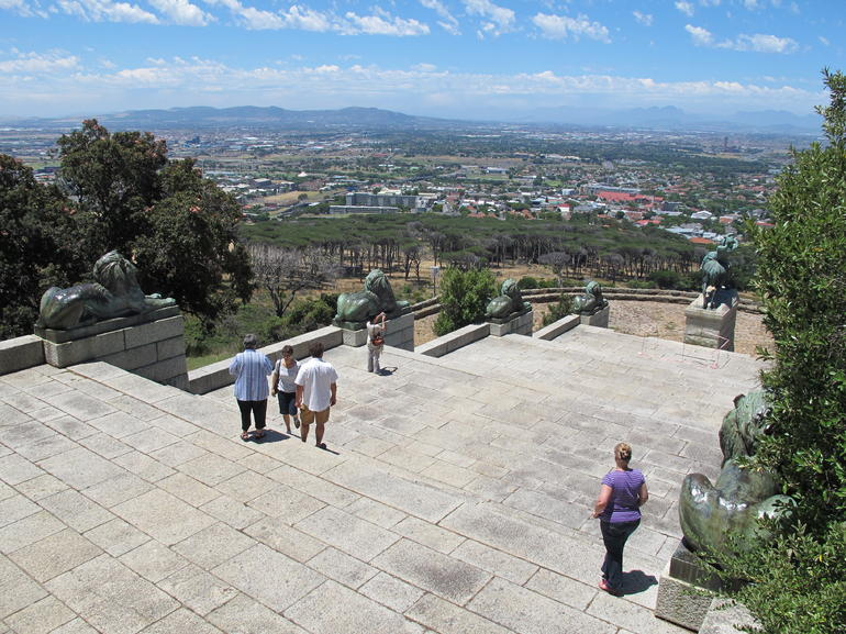 Rhodes Memorial Steps - Cape Town