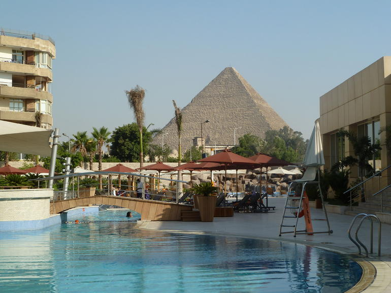 So close, I could almost touch it! - Cairo