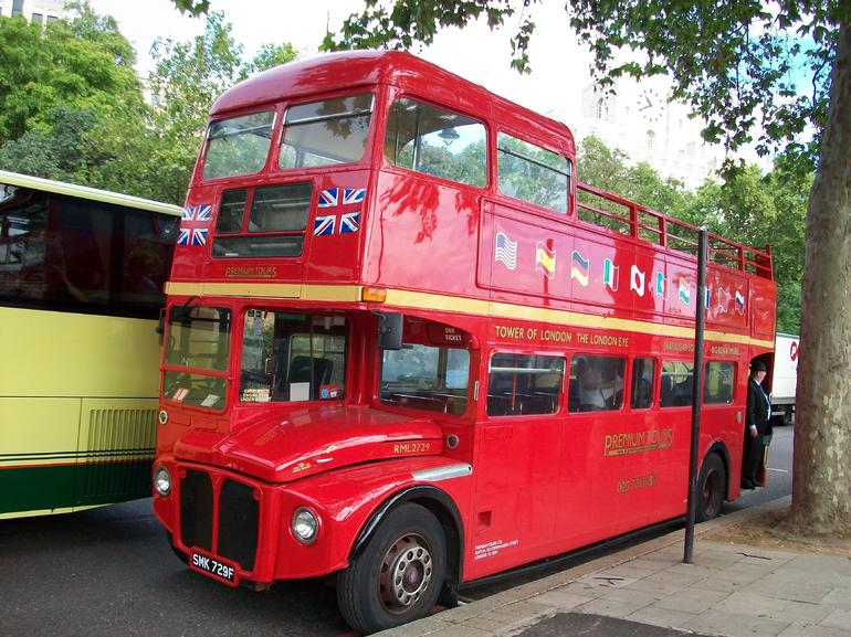 The Vintage double-decker Bus - London