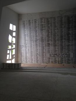 The wall with the names of all out fallen soldiers. , Brian M - October 2014