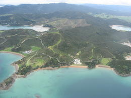 The Bay of Islands is pretty big., Bandit - November 2011