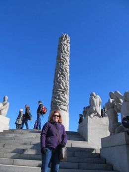 Beautiful day to tour Vigeland Park! , Kathleen H - March 2015