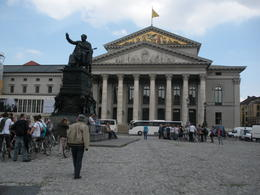 National Theatre, Munich -- which houses the Bavarian State Ballet , Thomas E - June 2011