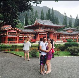Visiting the Byodo-in temple , Alana L - November 2015