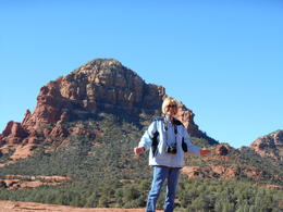Photo of Sedona & Flagstaff Broken Arrow Jeep Tour At the top of submarine rock