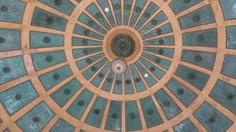 This is the inside of the dome structure located in on of the city parks. Used for music and public performances because of it wonderful acoustics. , Blackaviator - April 2014
