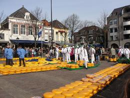 Photo of Amsterdam Alkmaar Cheese Market and Dutch Windmills Half-Day Trip from Amsterdam Cheese Market, Amsterdam
