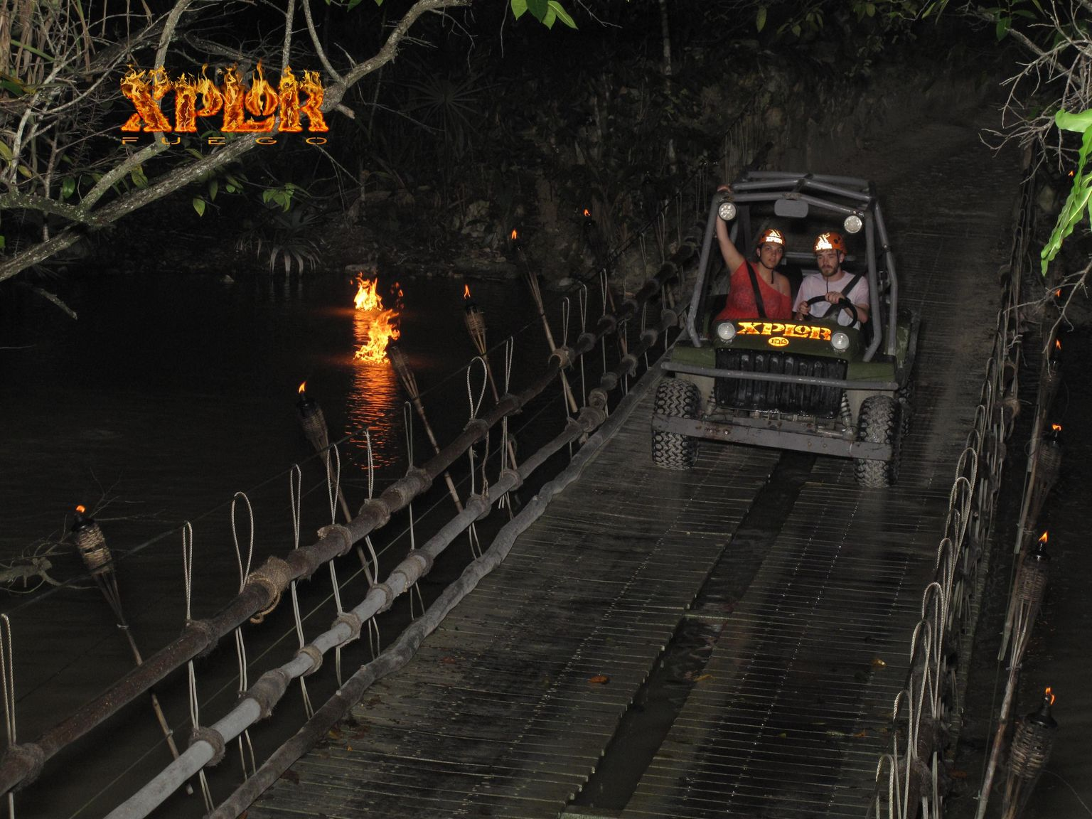 Nighttime Admission to Xplor Adventure Park with Transport
