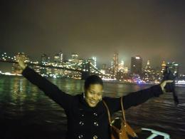 Photo of New York City New York Dinner Cruise with Buffet Enjoying the deck