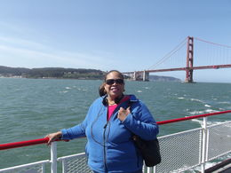 Terri on the Golden Gate Bay Cruise , tglenn1025 - June 2015