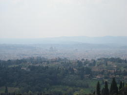 View of Florence from Fisole , Dmitriy M - June 2012